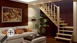 Лестница для частного дома К-031м - фото 16568