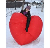 Кресло-мешок Сердце Мега