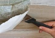 Снятие обоев с потолка (1 слой)