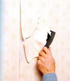 Снятие обоев со стен (1 слой)