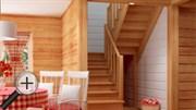 Лестница для дома К-004м