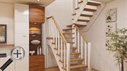 Лестница на 2 этаж К-034м