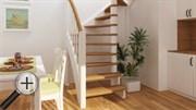 Лестница из сосны ЛС-04м