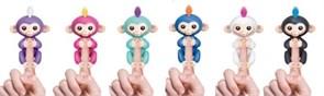 Обезьянки fingerlings синий