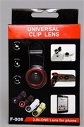 Набор объективов для телефона  Clip Lens