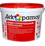Клей строительный универсальный ДК23 КС (5кг) на жидком стекле