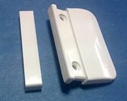 Замена ручек балконная ручка AL(ракушка)