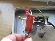 замена сигнальной лампочки (на панели управления)