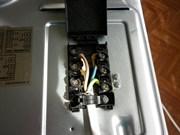 замена переключателя духового шкафа (с термодатчиком)