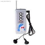 """Радиоприемник FM, на батарейках, """"Пингвин"""" 179479"""