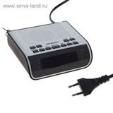 Радиоприемник с часами Rolsen CR-100W белый   1103304