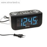Радиоприемник с часами Vitek VT-6600 синий   1136636